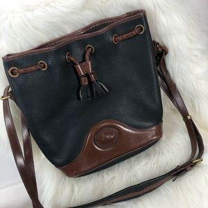 Dooney and Bourke Vintage leather bucket bag